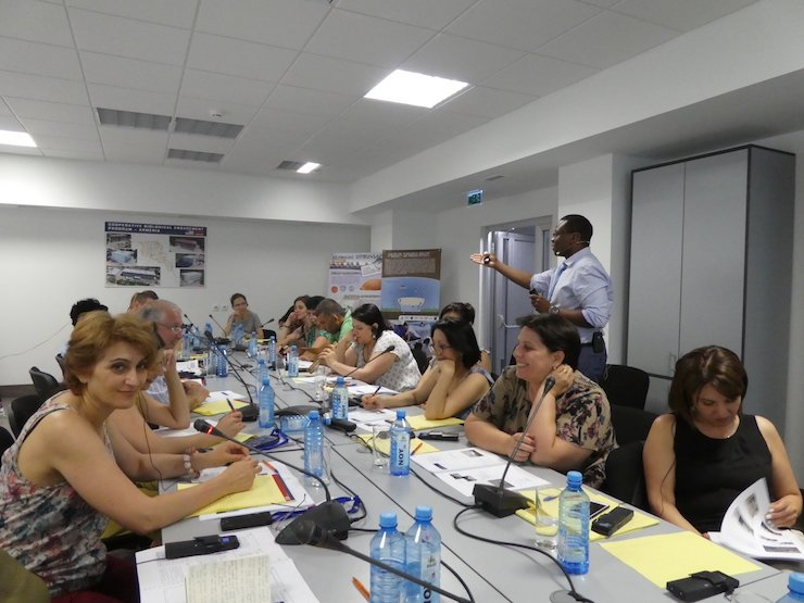One-Health laboratory strengthening project in Armenia: Training of trainers on Quality Mangemement System
