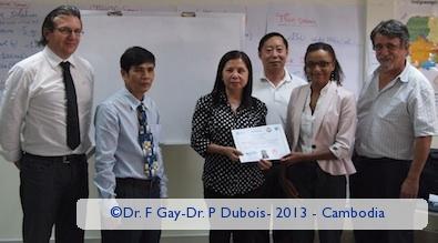 Training on Epidemiology and Role of diagnostic laboratories in Malaria surveillance in Cambodia - 2013 - Cambodia