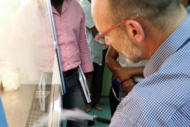 Training on Biosafety & Risk assessment in Mali and Haïti, Fondation Mérieux - 2015 - Haiti