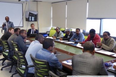 Training on Biosafety and Biorisk Management for BSL3 laboratory, in collaboration with IMEBIO and SETRA - 2018 - Ethiopia