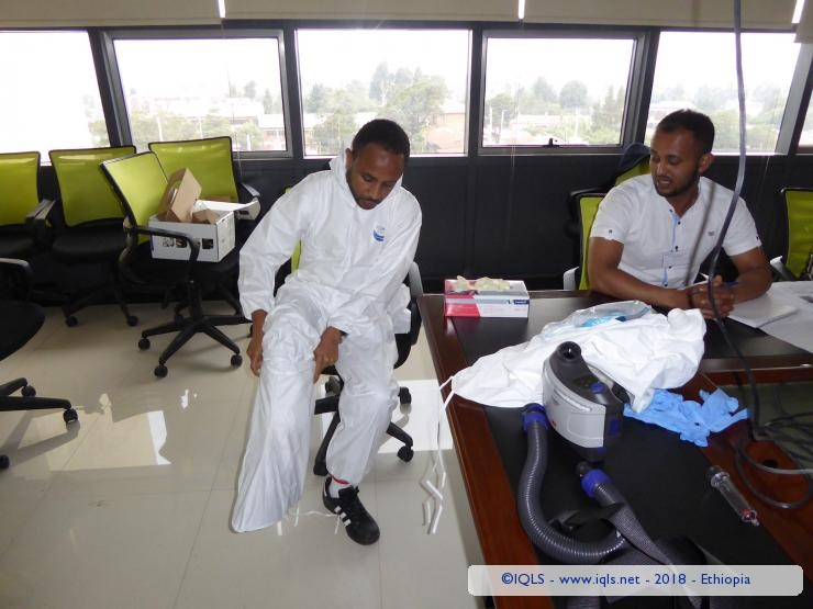 Training on Biosafety and Biorisk Management for BSL3 laboratory, in collaboration with IMEBIO and SETRA