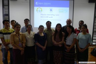 ISO15189 Quality Initiative, Merieux Foundation - 2014 - Laos