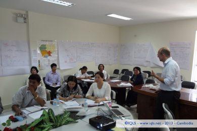 Training on Quality Assurance - National Center for Parasitology, Entomology and Malaria Control, Cambodia - 2013 - Cambodia