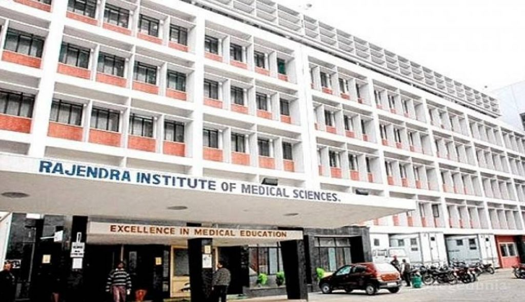Support to the Rajendra Institute of Medical Sciences (RIMS), Ranchi, India