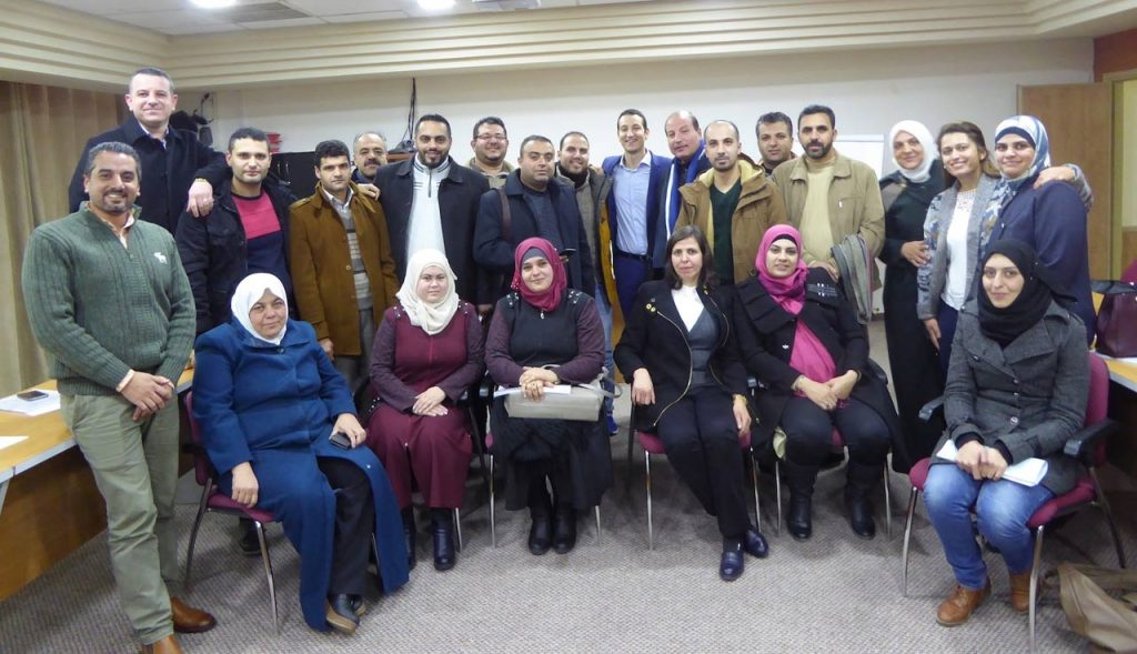 Supporting the National Quality Infrastructure, Palestine