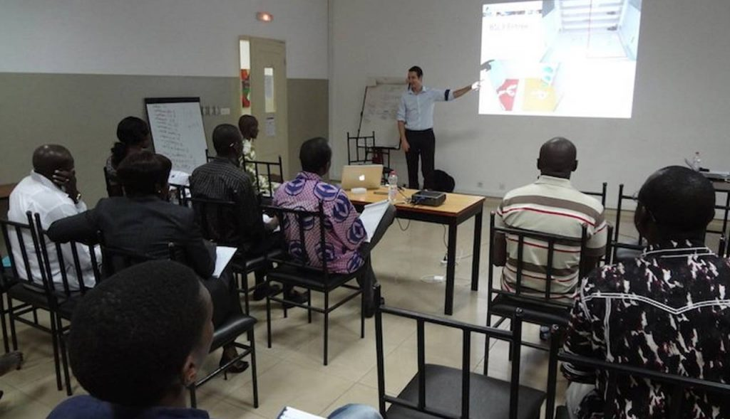 Training on Biosafety & Risk assessment in Mali and Haïti, Fondation Mérieux