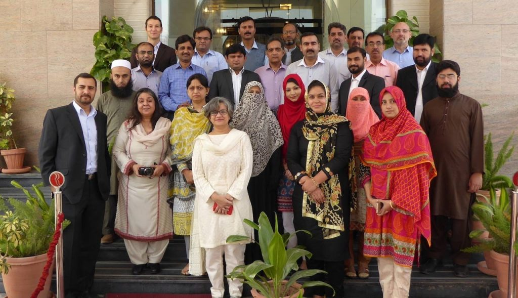 Training on Laboratory Quality Management System and Quality System Essentials in Pakistan