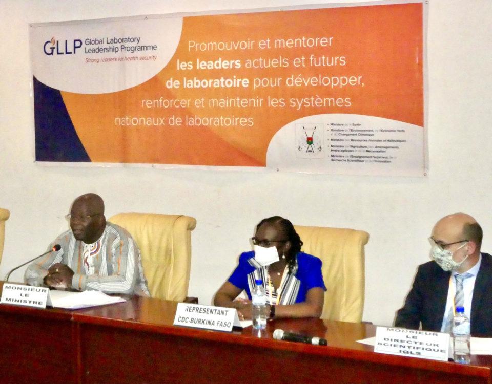 Global Laboratory Leadership Programme (GLLP) Launches in Burkina Faso