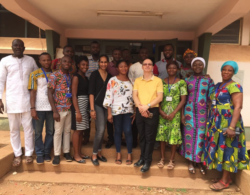 Laboratory Training for ISO 9001 Certification in Tamale and Sekondi RPHLs, Ghana