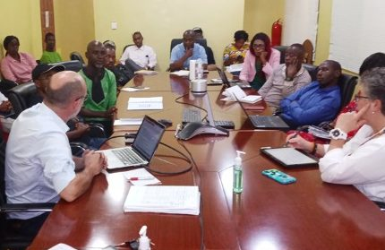 Helping Prepare for Coronavirus at NPHIL in Monrovia, Liberia