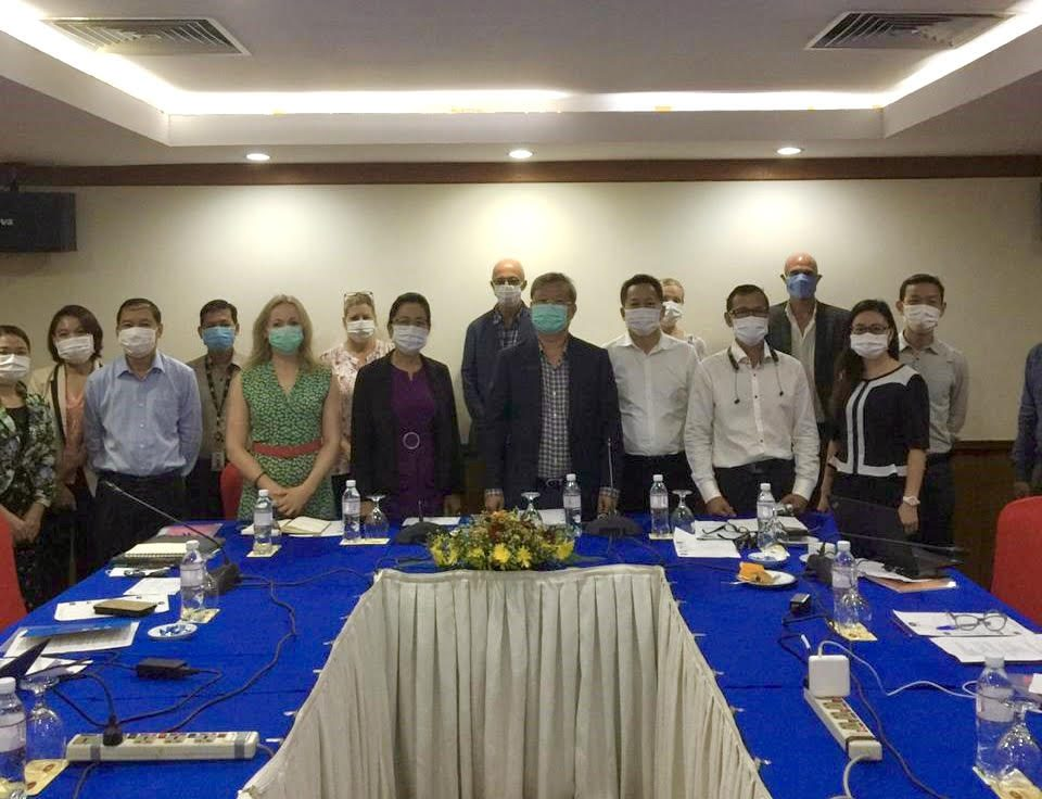 SEALAB Project For Strengthening Laboratory Systems Launches in Cambodia